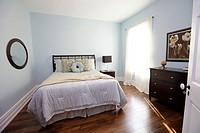 Renovated bedroom in house, Property Released, Toronto, Ontario.