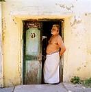 Man in Chennai (Madras) in India.
