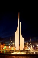 Contemporary Sculpture, Millennium Plaza, Quays, County Waterford, Ireland.