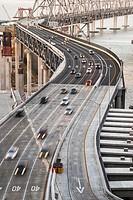 Bay Bridge, San Francisco, California, USA.