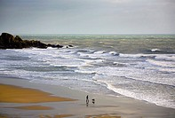Bunmahon Strand, The Copper Coast, County Waterford, Ireland.