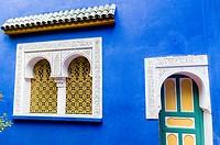 Jardin Majorelle, Marrakech, Morocco, North Africa, Africa.
