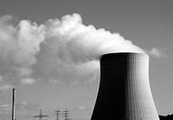 Nuclear power plant Isar 1 Landshut / Bavaria.