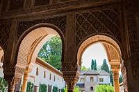 The Alhambra. Granada. Andalucia. Spain. Europe.