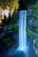 Brandywine Falls, near Whistler, British Columbia, Canada.