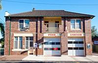 Lismore Fire Station, Lismore, NSW, Australia.
