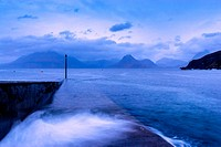 The Cuillin Mountains From Elgol, Isle of Skye, Scotland.