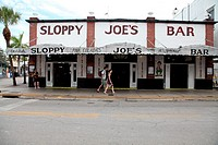 Sloppy Joes Bar in Key West, Florida, Key West is a city in Monroe County, Florida, United States. The city encompasses the island of Key West, the pa...
