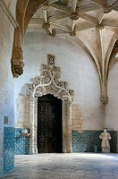 Monastery Santa Maria de Alcobaca, Mosteiro des Alcobaca, Orld Heritage Site of UNESCO, Oeste, Leiria District, Portugal, Europe,.