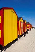 Beach of De Panne, West Flanders, Belgium.