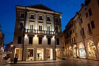 Guglielmo Marconi square, Mantova, Lombardy, Italy.
