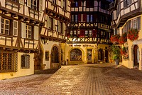 Old town in Colmar, Alsace, France, Europe.