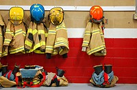 Fire Equipment at Rest.