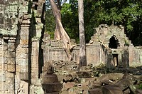 Preah Khan, UNESCO World Heritage Site, Angkor, Siem Reap,Cambodia, Indochina, Southeast Asia, Asia.