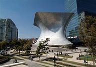 Museo Soumaya and Plaza Carso in Mexico City, Mexico.