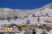 village of Hauteluce, Savoie department, Rhone-Alpes region, France, Europe.