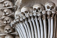 Sedlec Ossuary, Kutna Hora, UNESCO town, Czech Republic.