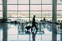 Airport lounge area, San Diego, California.