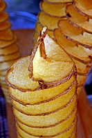 Coiled chips