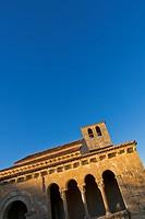 Romanesque Hermitage of Nuestra Señora de las Vegas, Requijada, Segovia, Castilla y León, Spain, Europe.
