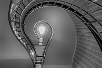 Lightbulb Stairwell.