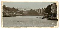 Arrábida Bridge over Douro river, Porto, Portugal