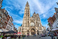 Cathedral of Our Lady 1352-1521, Antwerp, Belgium.