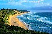 Seascape. Mabibi. Maputaland. KwaZulu Natal. South Africa.