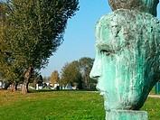 Italy, Milan, idroscalo, sculpures, Paolo delle Monache, memory and oblivion