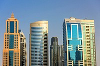 Dubai Marina. Dubai. United Arab Emirates. middle East