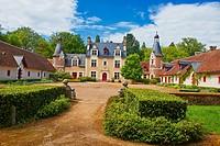 Troussay, Castle and Gardens, The smallest Castle in the Loire Valley, Chateau de Troussay, Le plus petit des Chateaux de la Loire, Cheverny, Loire et...