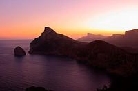 Península de Formentor, Mallorca, Balearic Islands, Spain.