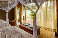 Sindabezi Island, part of Tongabezi Lodge. Victoria Falls. Livingstone. Zambia.