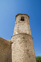 Church of San Felipe, built in the S. XIII transitional Romanesque to Gothic. Brihuega, Spain.