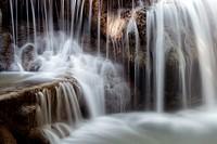 Huay Mae Khamin Waterfall, Srisawat district, Kanchanaburi, Thailand, Asia.