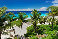 Beach Anse Intendance, Mahe Island, Seychelles, Indian Ocean, Africa.
