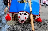 Carnival around Maceda villages in Orense (Galicia/Spain).