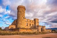 Spain, Catalonia,Barcelona province, Torre Salvana, Colonia Güell.