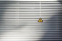 Electric signal in a metalic wall.