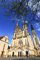 St Wenceslas cathedral. Olomouc, Moravia, Czech Republic.