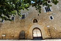 Canonica de Santa Maria de Vilabertran. Palau Abacial (Abbot Palace). Romanesque. XI-XV centuries. Vilabertran.