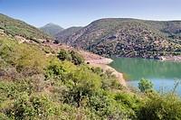 Mansilla reservoir. Logroño. La Rioja. Spain. Europe.