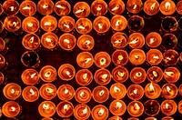 Tibetan candles.