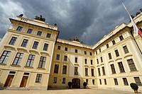 Castle in Prague, Czech Republic