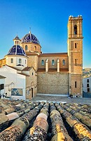Church of Nuestra Se–ora del Consuelo. Altea. Alicante. Valencia community. Spain.