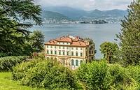 Villa Pallavicino of Stresa at Lago Maggiore, Piemont, Italy | Villa Pallavicino bei Stresa am Lago Maggiore, Piemont, Italien.