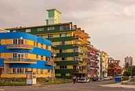 Apartments in Vedado, Havana, Cuba.