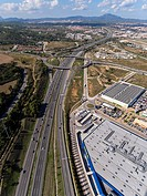 C-58 Highway and Commercial Center in Sabadell, Barcelona.