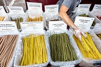 Florida, St. Saint Petersburg, Saturday Morning Market, vendors, stalls, shopping, food, artisan, gourmet, farmers, pasta,