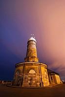 Cape Mayor Lighthouse, Santander, Bay of Santander, Cantabrian Sea, Cantabria, Spain, Europe.